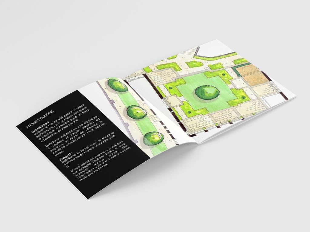 native studio grafico poggio rusco grafica brochure belloni giardini 1