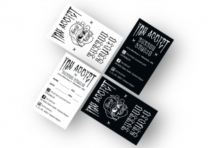 native studio grafico poggio rusco grafica card ink addict tattoo