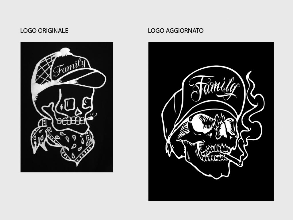native studio grafico poggio rusco grafica logo ink addict