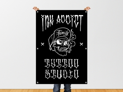 native studio grafico poggio rusco grafica banner ink addict
