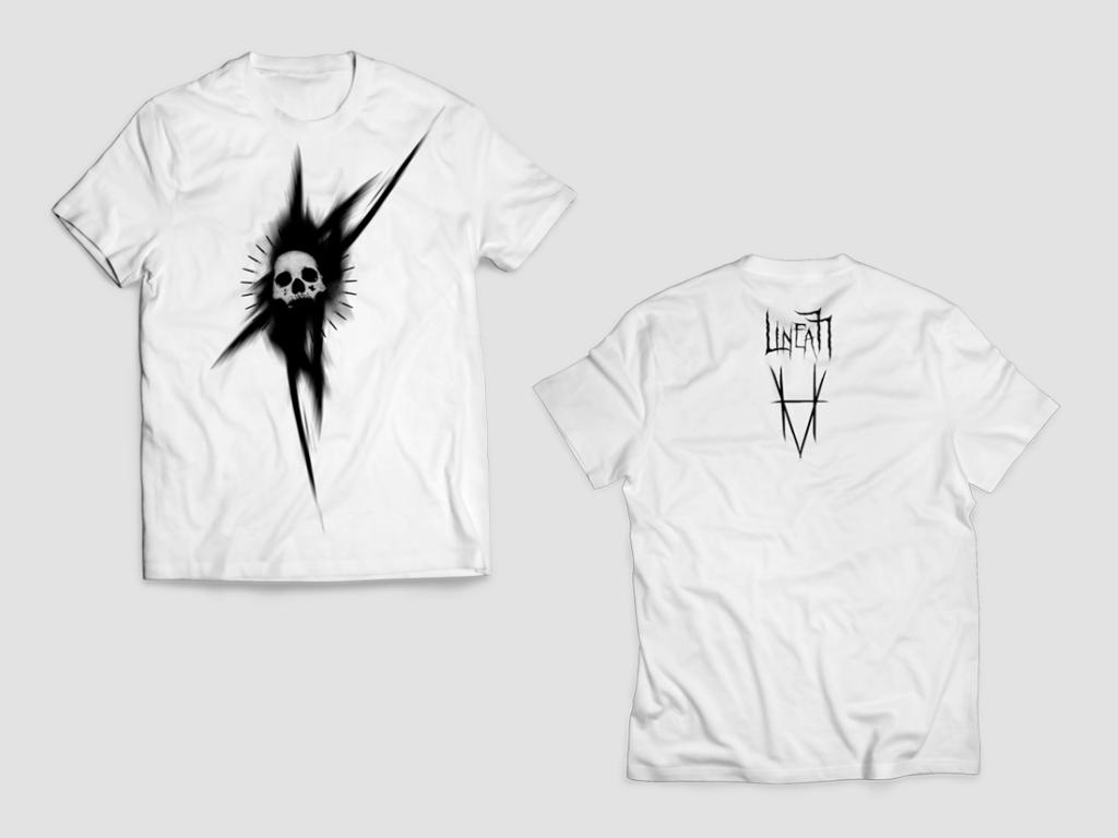 native studio grafico poggio rusco grafica t-shirt linea 77 bianco