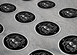 native studio grafico poggio rusco grafica sticker ink addict