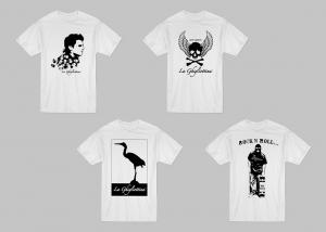 native studio grafico poggio rusco grafica t-shirt la ghigliottina