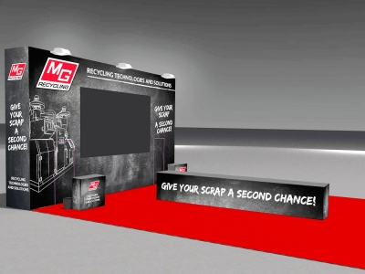 native studio grafica mg recycling stand ecomondo 2017
